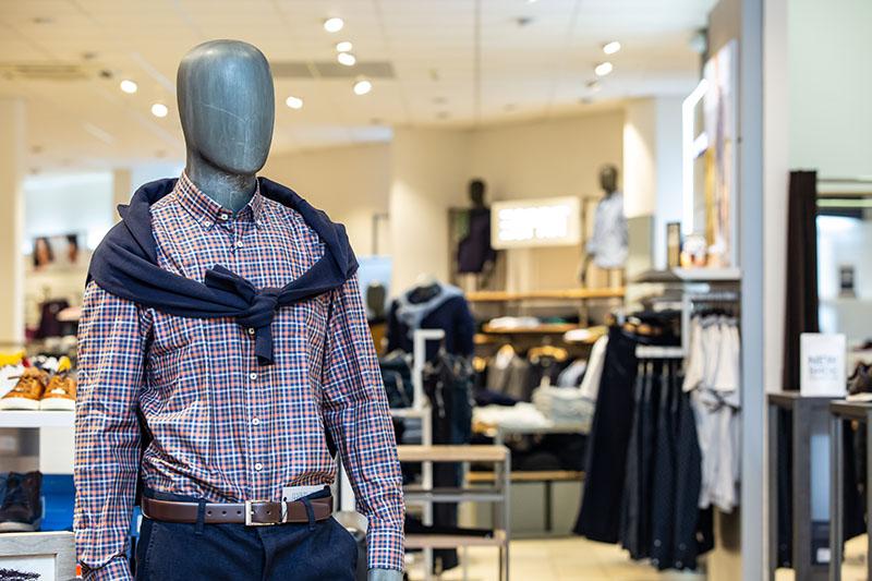 Markenstore Mode Herrenkleidung